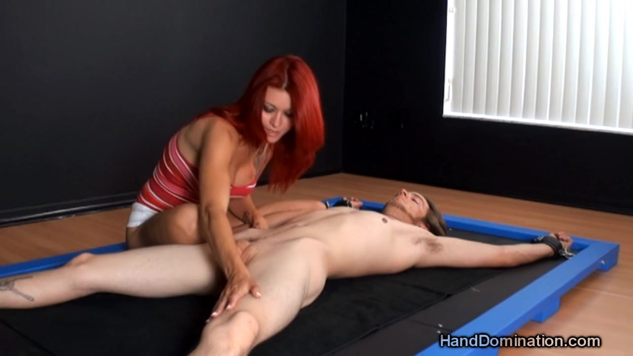 Wife Giving Handjob Another